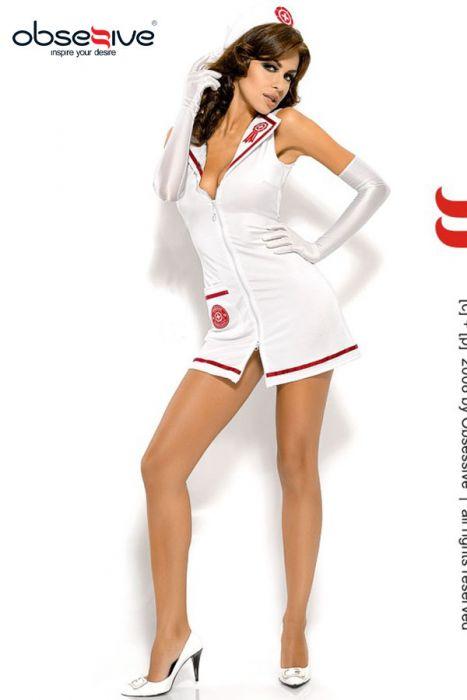 Disfraz enfermera con estetoscopio