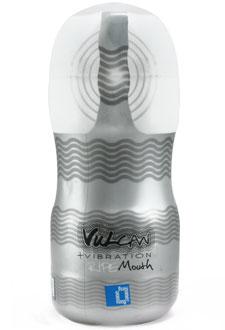 Vulkan Ripe boca con vibrador