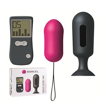 Huevo control remoto con plug anal