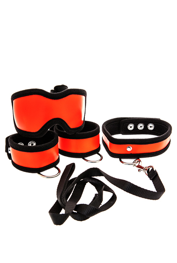 5 piece bed restraint kit