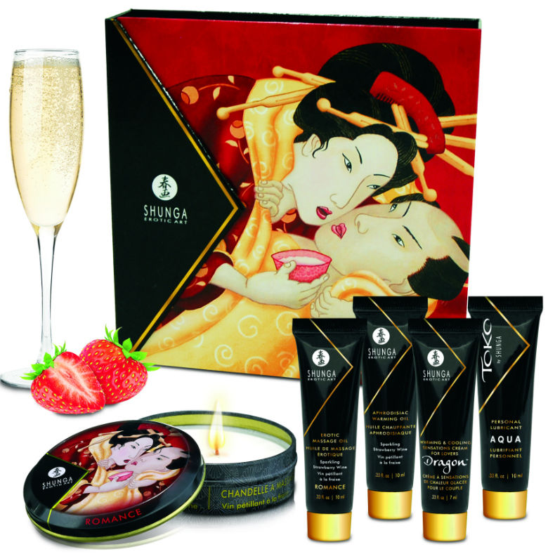 Kit secret geisha Fresas con champagne