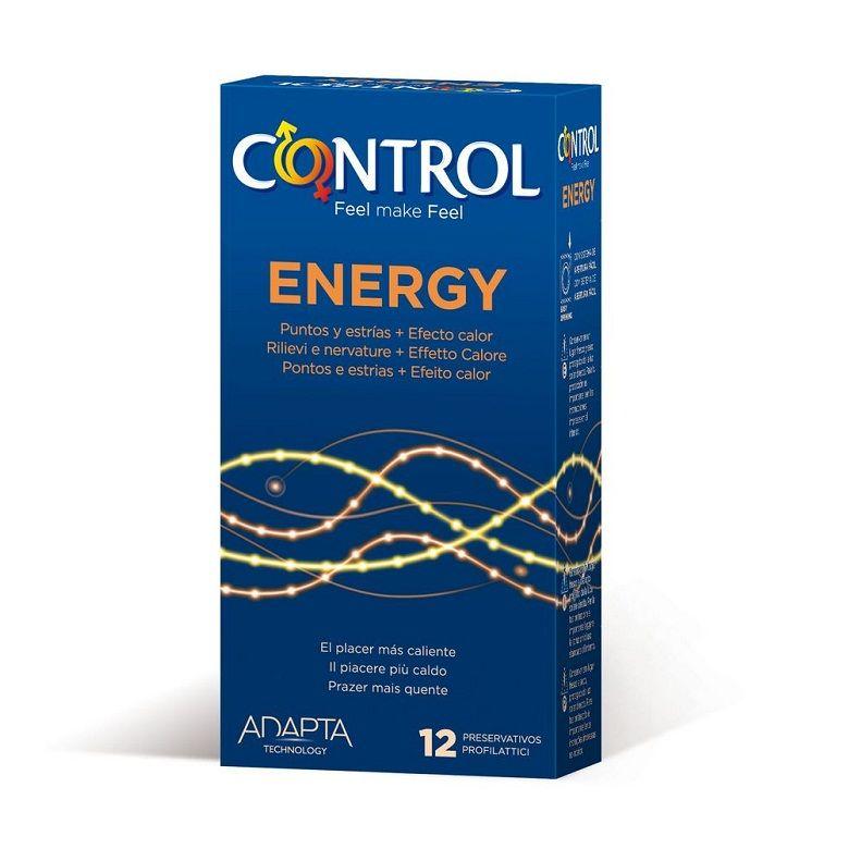 Energy estriado y efecto calor 12 unidades