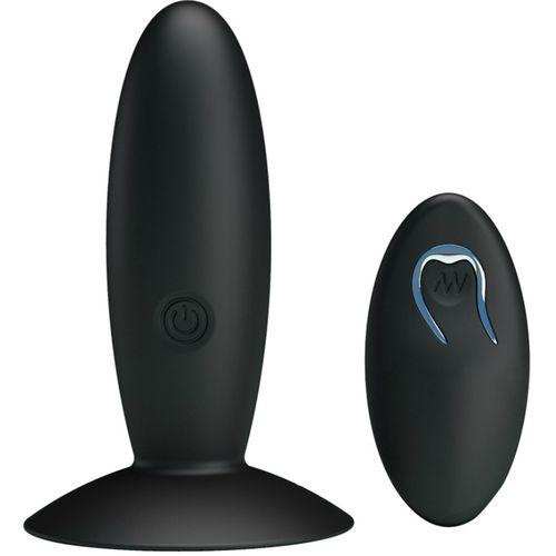 Plug anal recargable y con mando a distancia