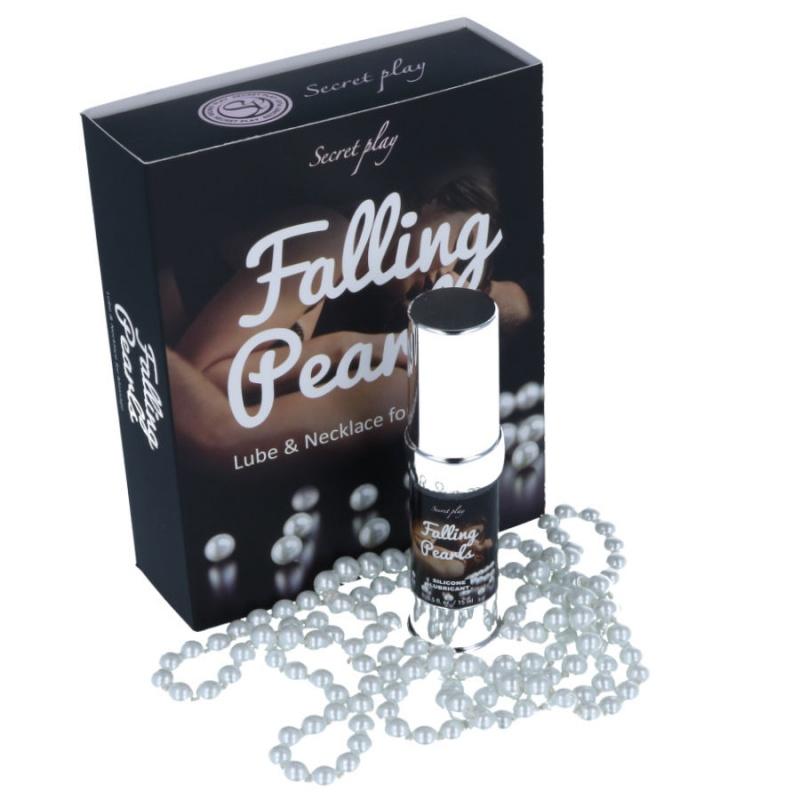 Falling Pearls,Lubricante y perlas para masaje