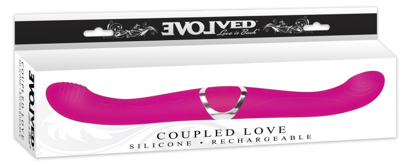 Doble silicona recargable coupled love