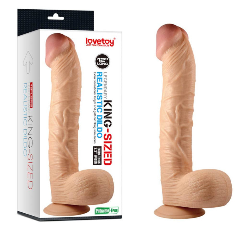 King sized realistic dildo 12
