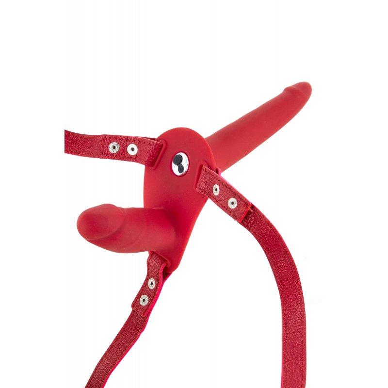 imagen de Arnes strap on doble recargable