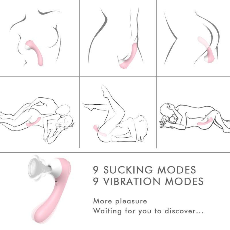 imagen de Succionador y vibrador Obsession