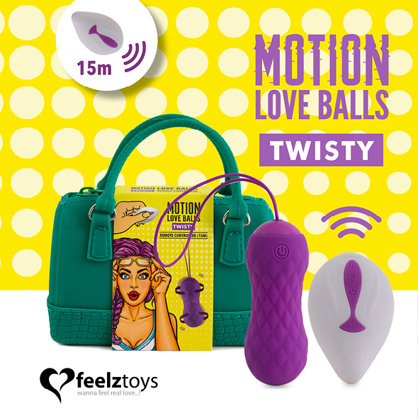 Motion love balls twisty up&down