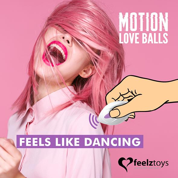 imagen de Motion love balls twisty up&down