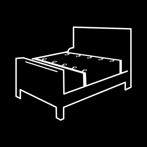 imagen de Set ataduras cama Luxury
