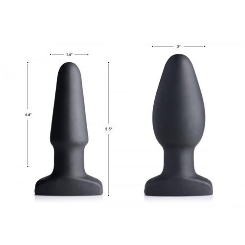 imagen de Plug anal hinchable con vibración