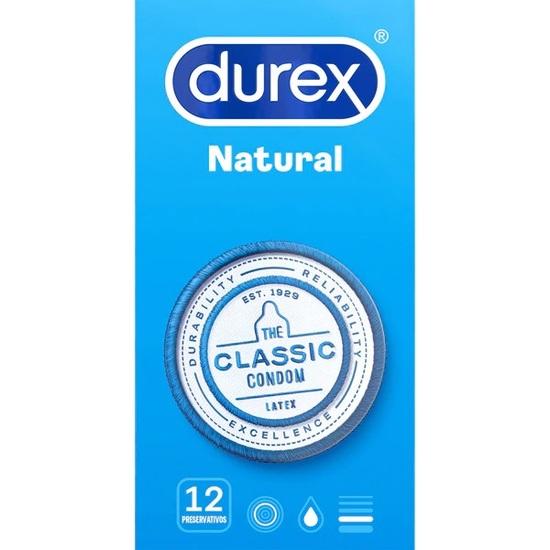 Durex natural plus de 12 unidades