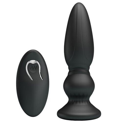 Plug anal recargable con mando