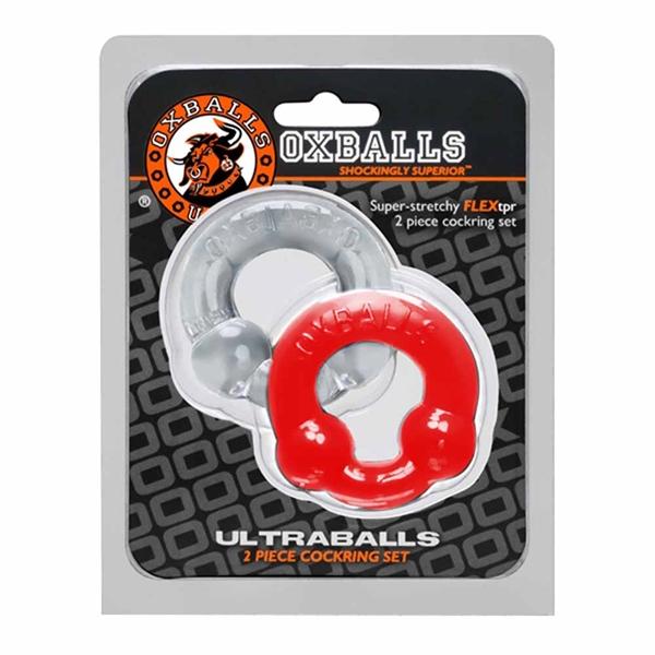 Pack 2 anillos ultraballs