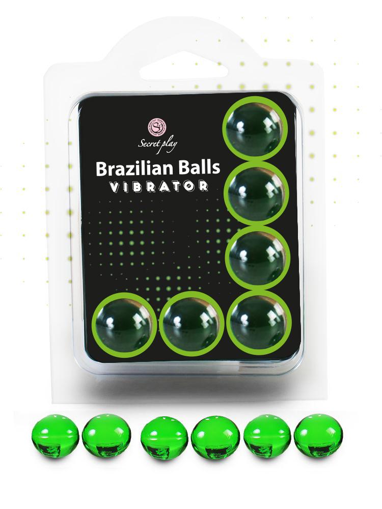 Brazilian balls efecto vibración 6 unidades