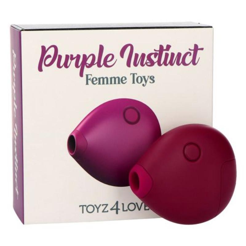 Succionador de bolsillo Purple instinct