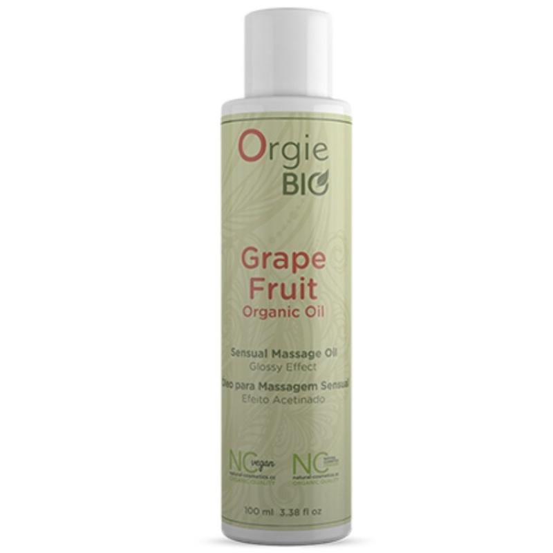 Aceite masaje orgánico pomelo