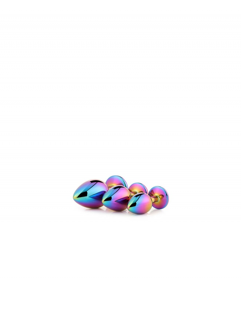 imagen de Kit 3 plugs metal Gleaming love muticolor