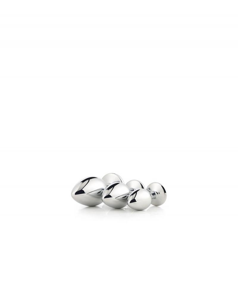 imagen de Kit 3 plugs Gleaming love plata