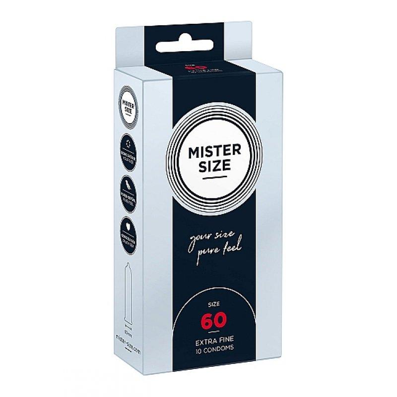 Preservativos Mister Size (diferentes medidas)
