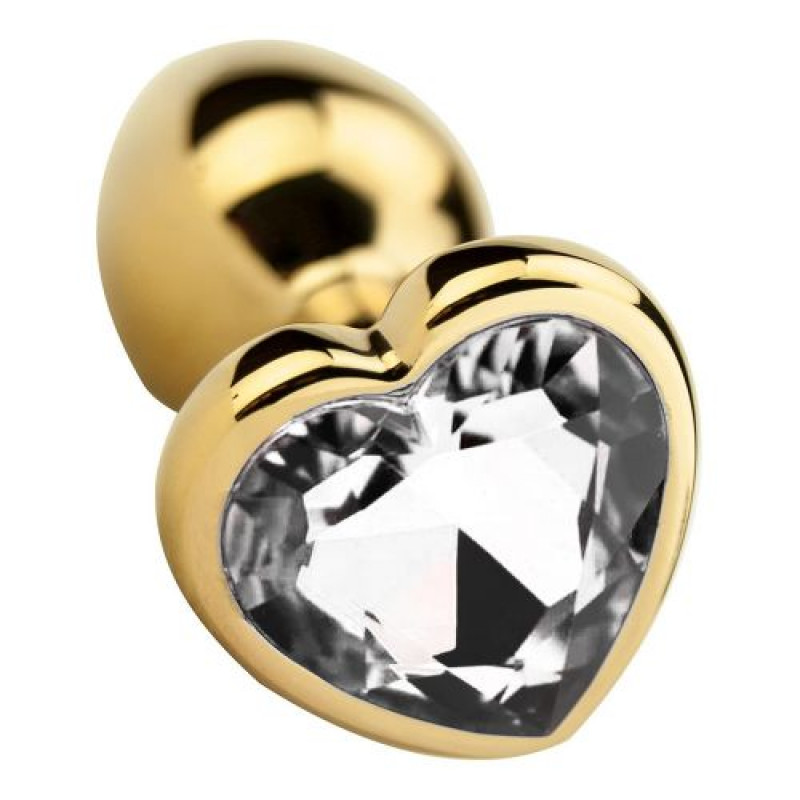 Plug anal aluminio forma diamante T-S