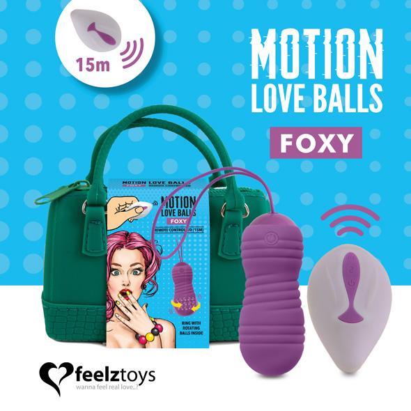 Bola rotadora con mando Foxy