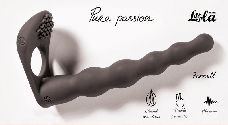 Dildo doble penetracion pure passion Farnell
