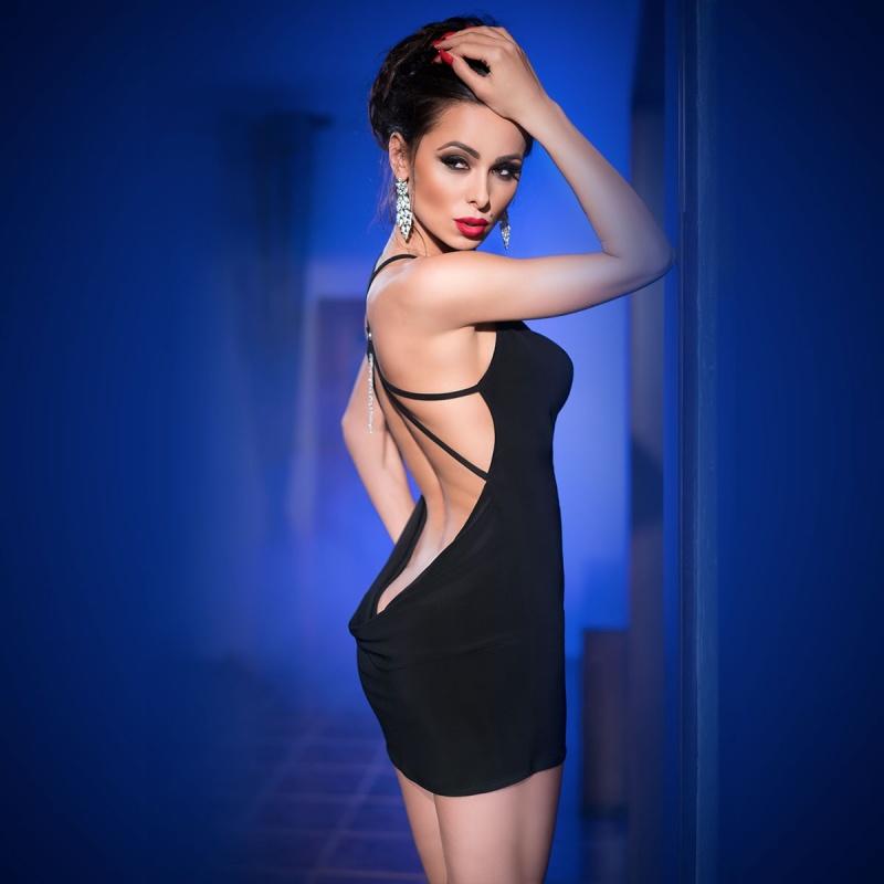 Mini vestido CR-4239