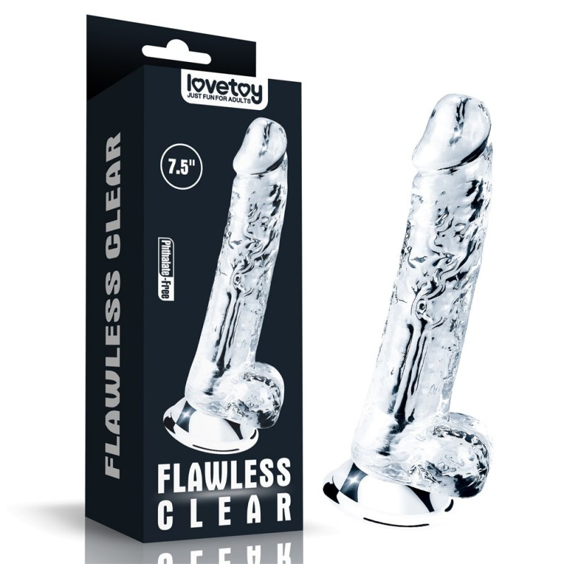 Dildo clear flawless 7,5